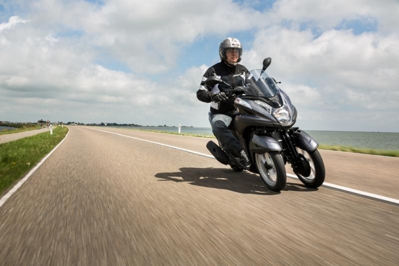 Avec le Tricity, Yamaha offre la troisième roue