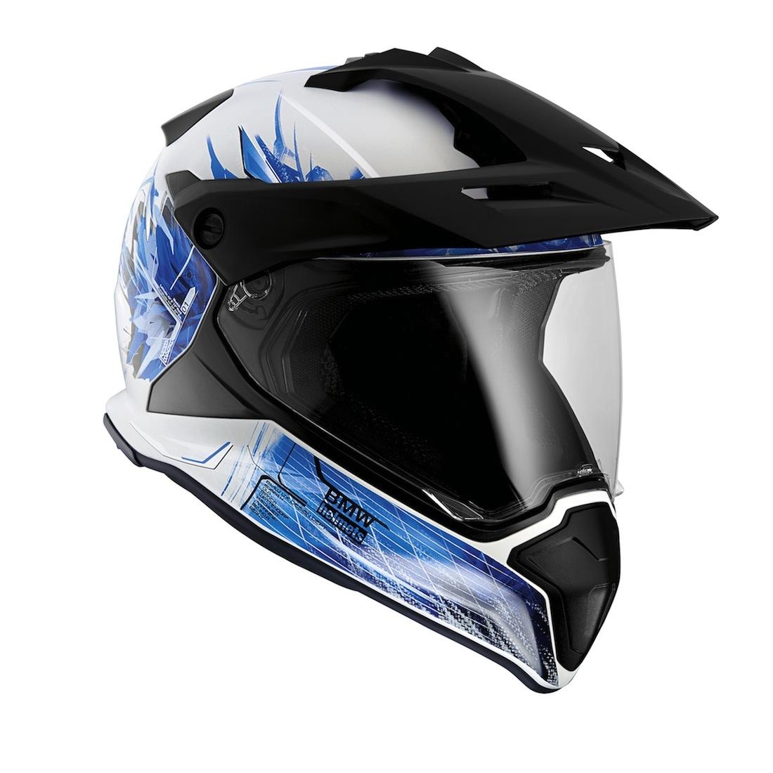 Le nouveau casque BMW GS. Disponible aussi dans d'autres coloris.