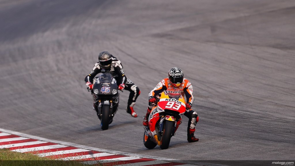 marquez a refait tout son retard pour la deuxi me journ e de test sepang actu moto. Black Bedroom Furniture Sets. Home Design Ideas
