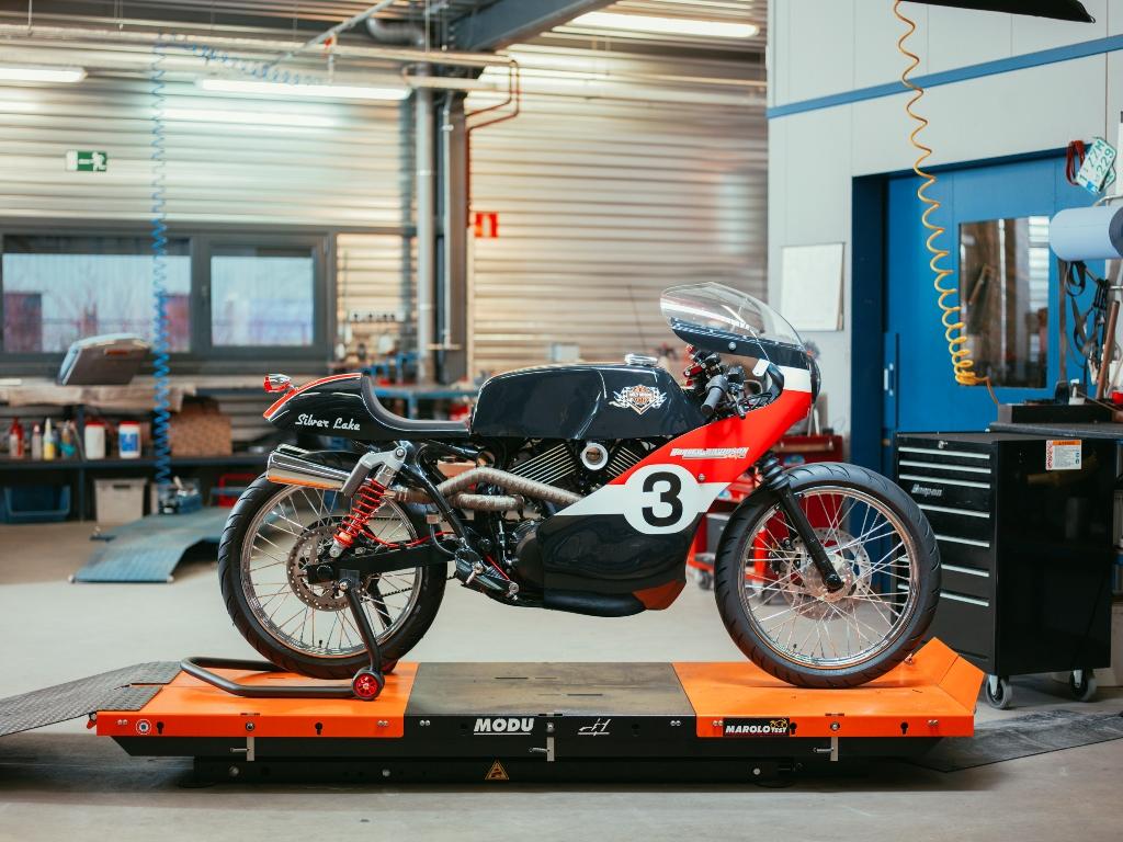 Version racer.