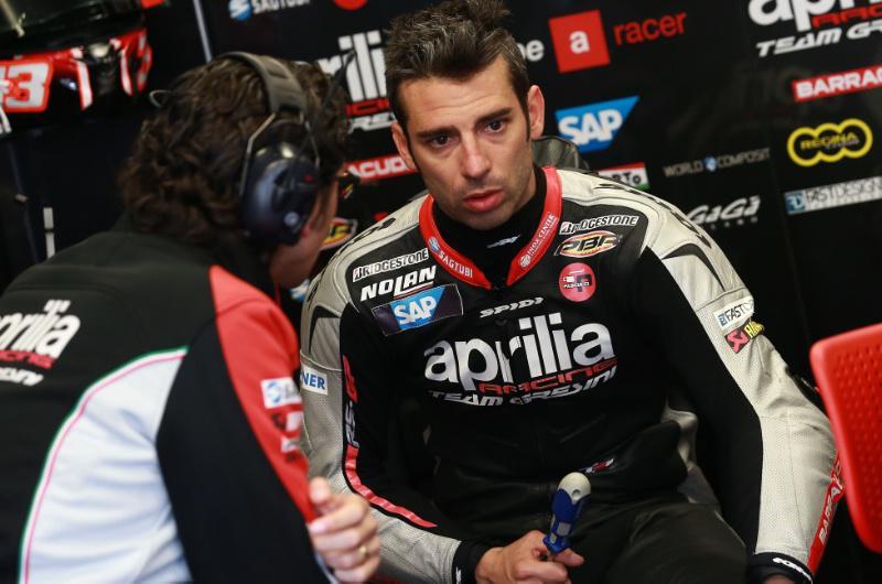 Melandri quitte Aprilia en GP et sera remplacé par Laverty