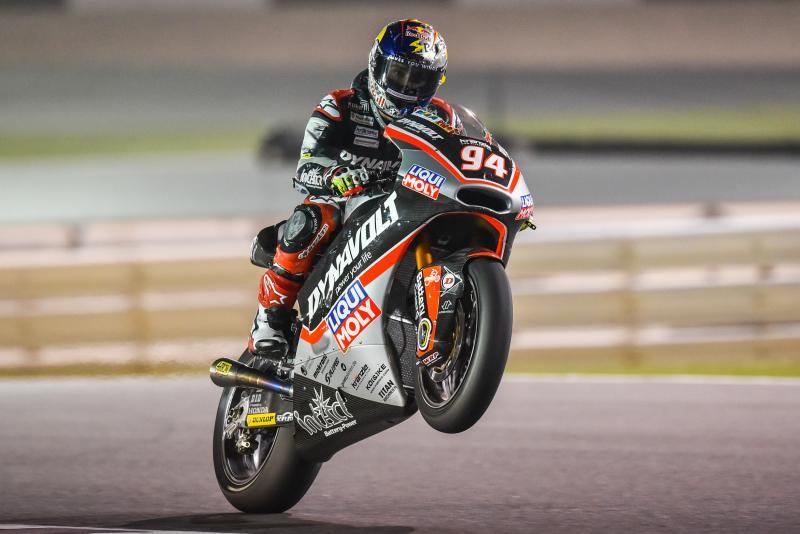 Jonas Folger, vainqueur à Losail l'an passé, décroche la pole en Moto2