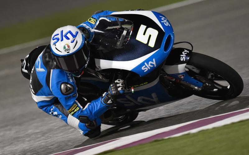 Première pole de l'année pour Fenati (Moto 3) au Qatar