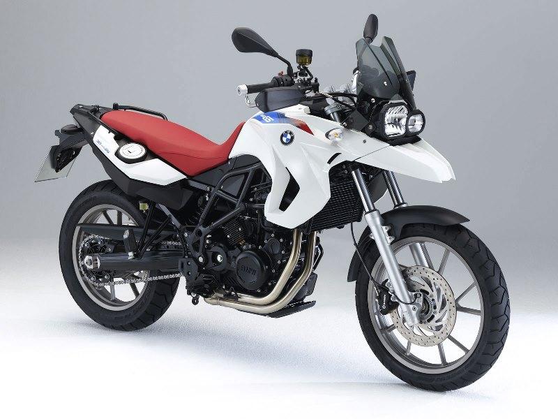 La F 650 GS àmoteur bicylindre, qui deviendra par la suite F 700 GS.