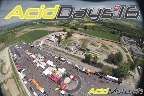 Les journées d'essai Acid'Days reviennent à Cossonay le 30 avril et le 1er mai