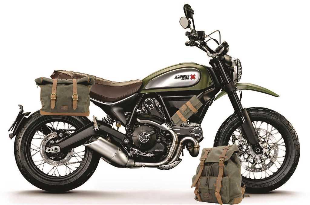 Sacoches et sac de voyage moto Longride