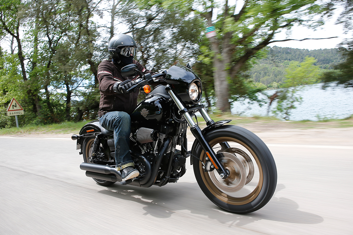 Noir Harley-Davidson Low-Rider-S