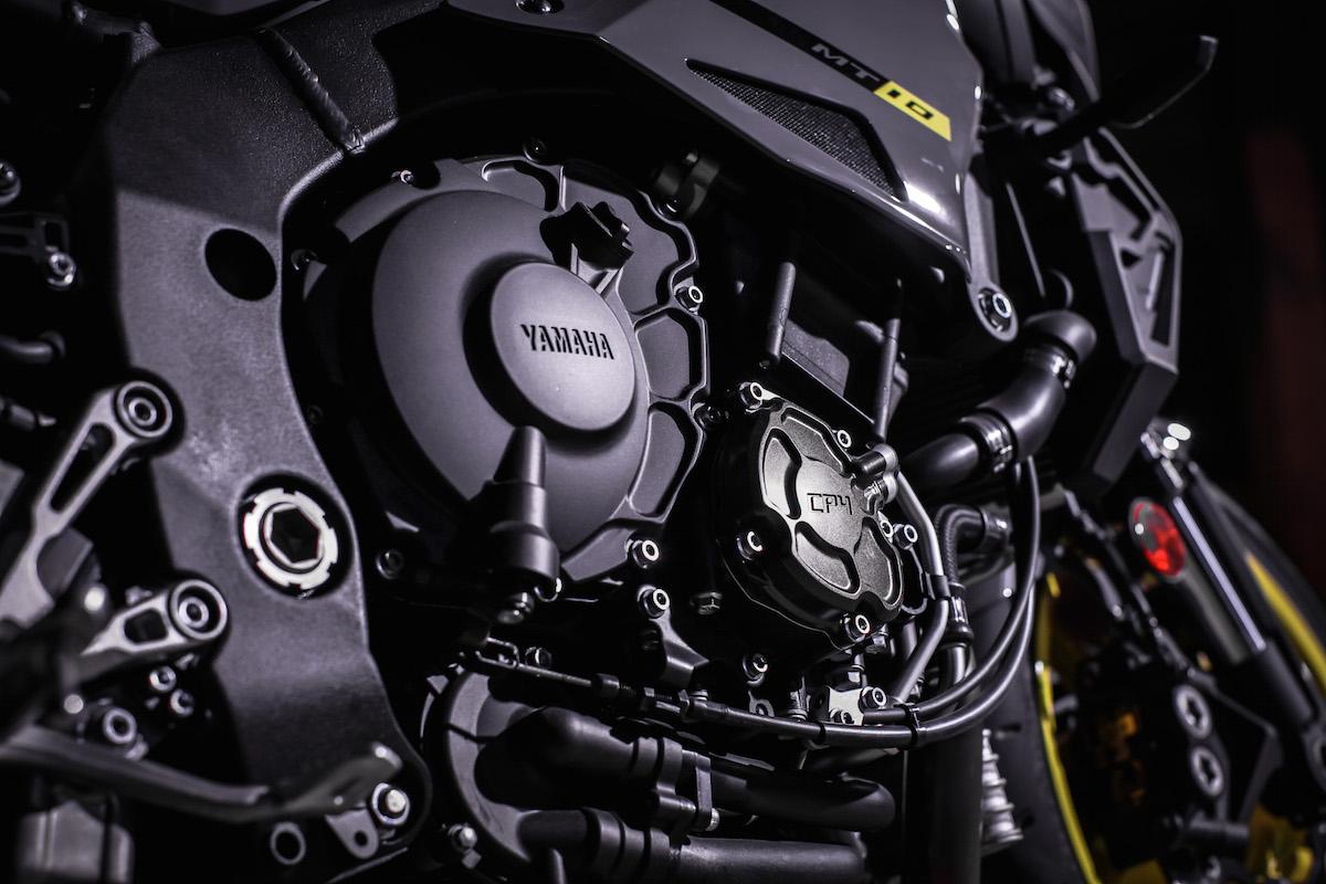 Le moteur de la Yamaha MT-10