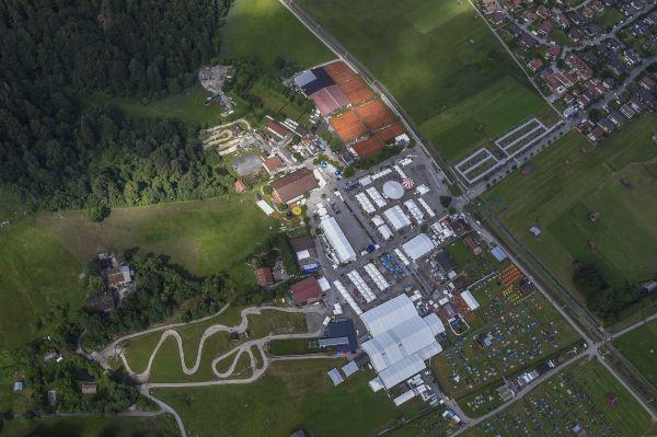 Le site accueillant les BMW Motorrad Days.