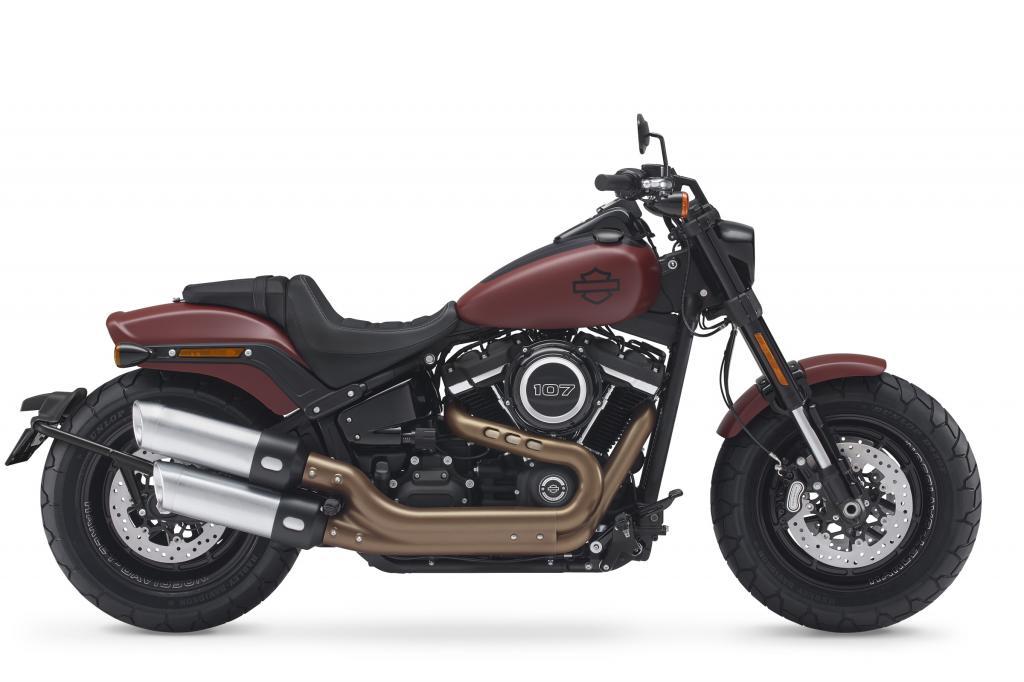 Bien connu La nouvelle Harley Fat Bob, sportive et faite pour échapper aux  RZ11