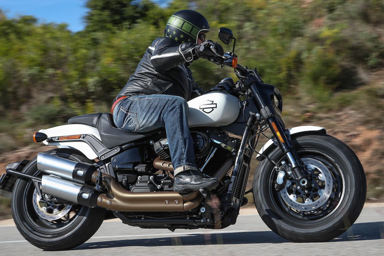 nouvelle Harley Fat Bob