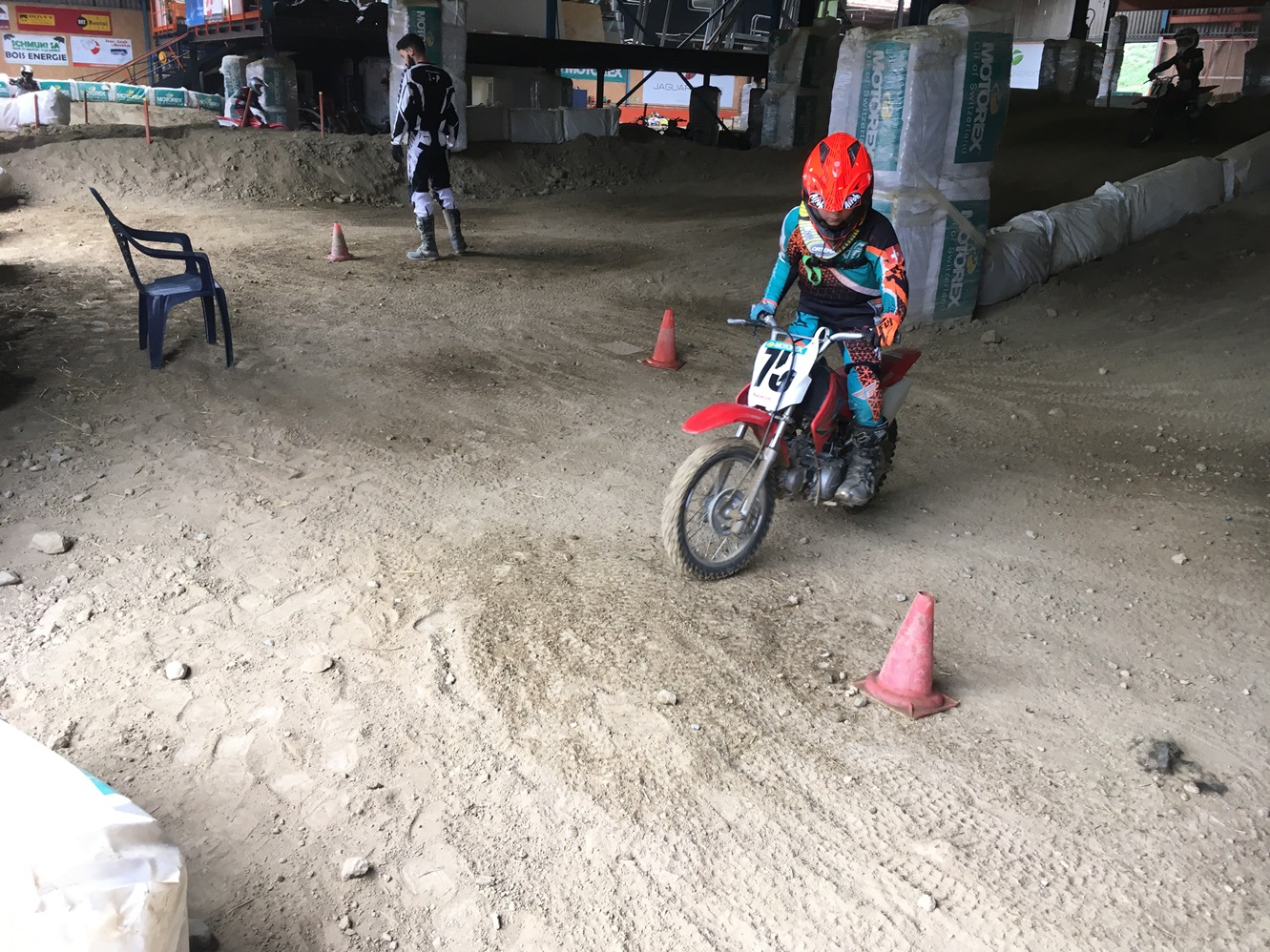 motocross, bon pour les enfants