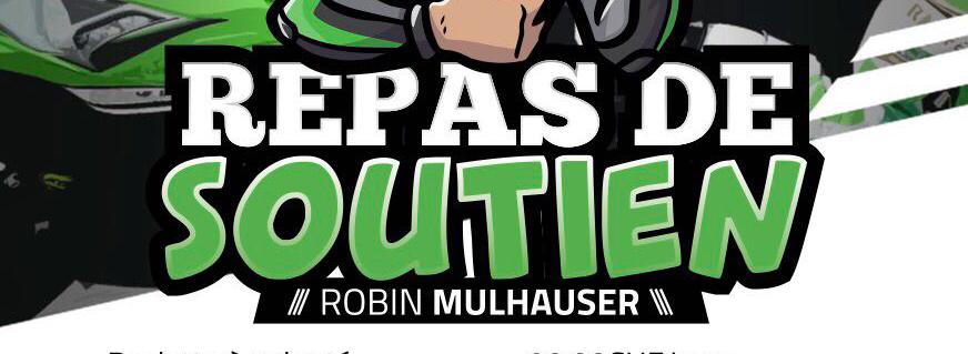 Robin Mulhauser vous invite à son repas de soutien