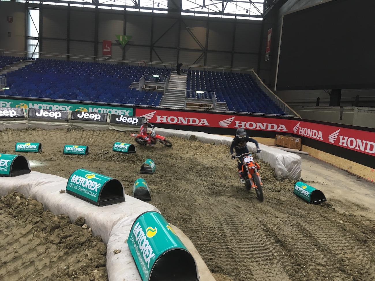 nouvelle piste du Supercross