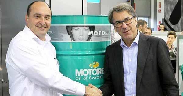 Motorex signe avec Husqvarna