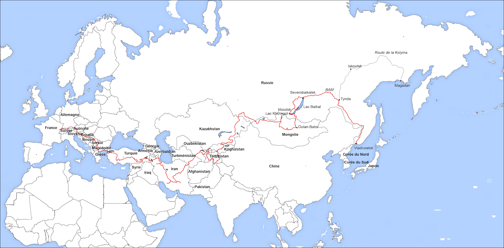 bout de la Sibérie sur son Hirondelle
