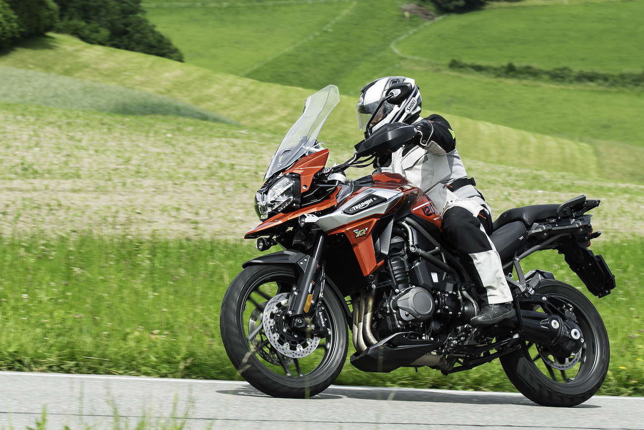 Multistrada 1260 contre Tiger 1200