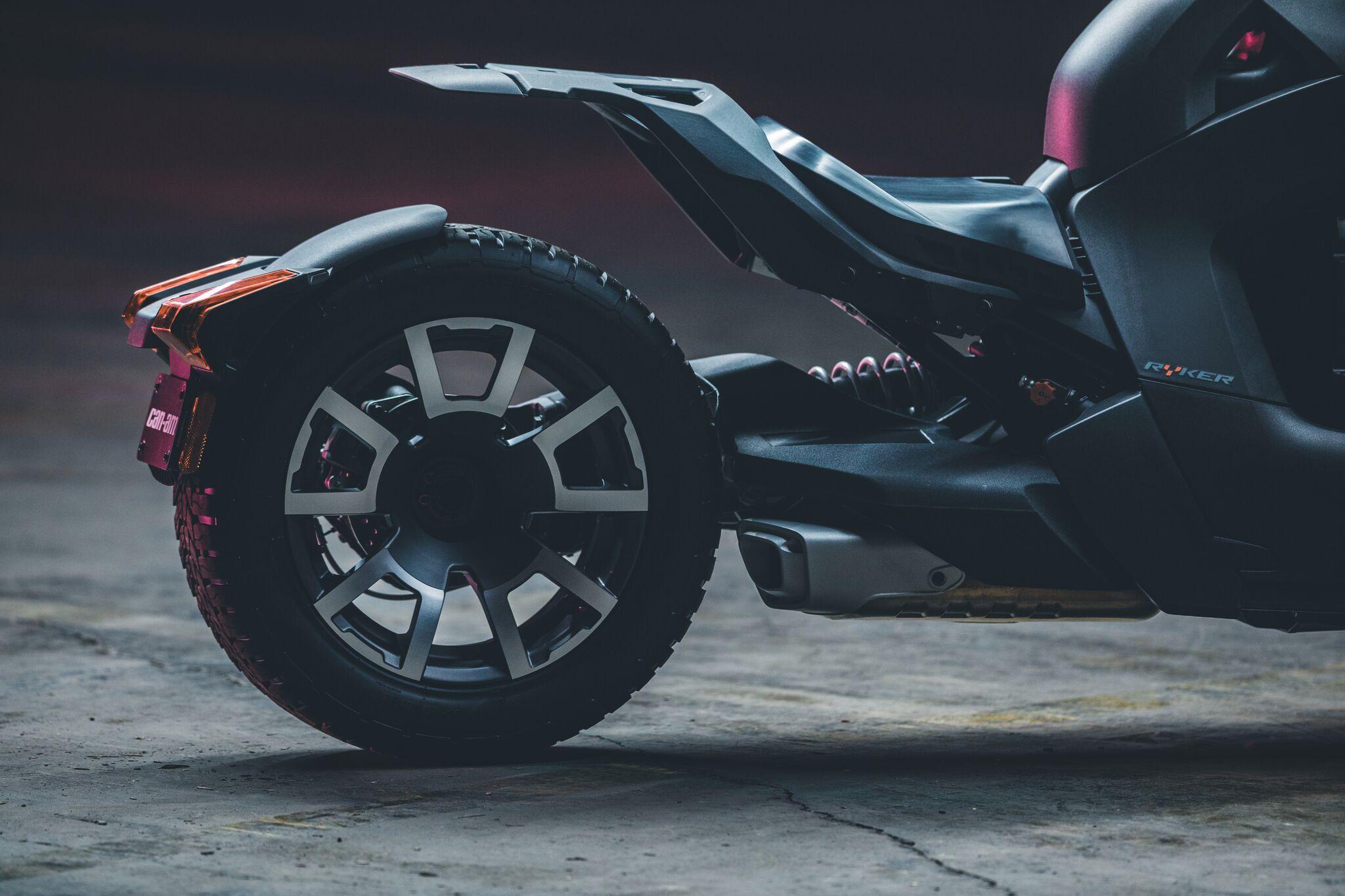 bient t un nouveau trois roues plus abordable sign can am le ryker actu moto. Black Bedroom Furniture Sets. Home Design Ideas