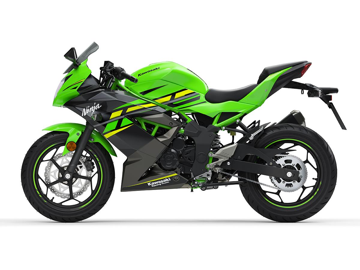 Kawasaki Z 125 et la Ninja 125