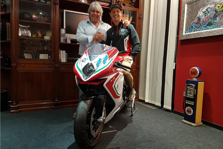Domi reste en Moto2