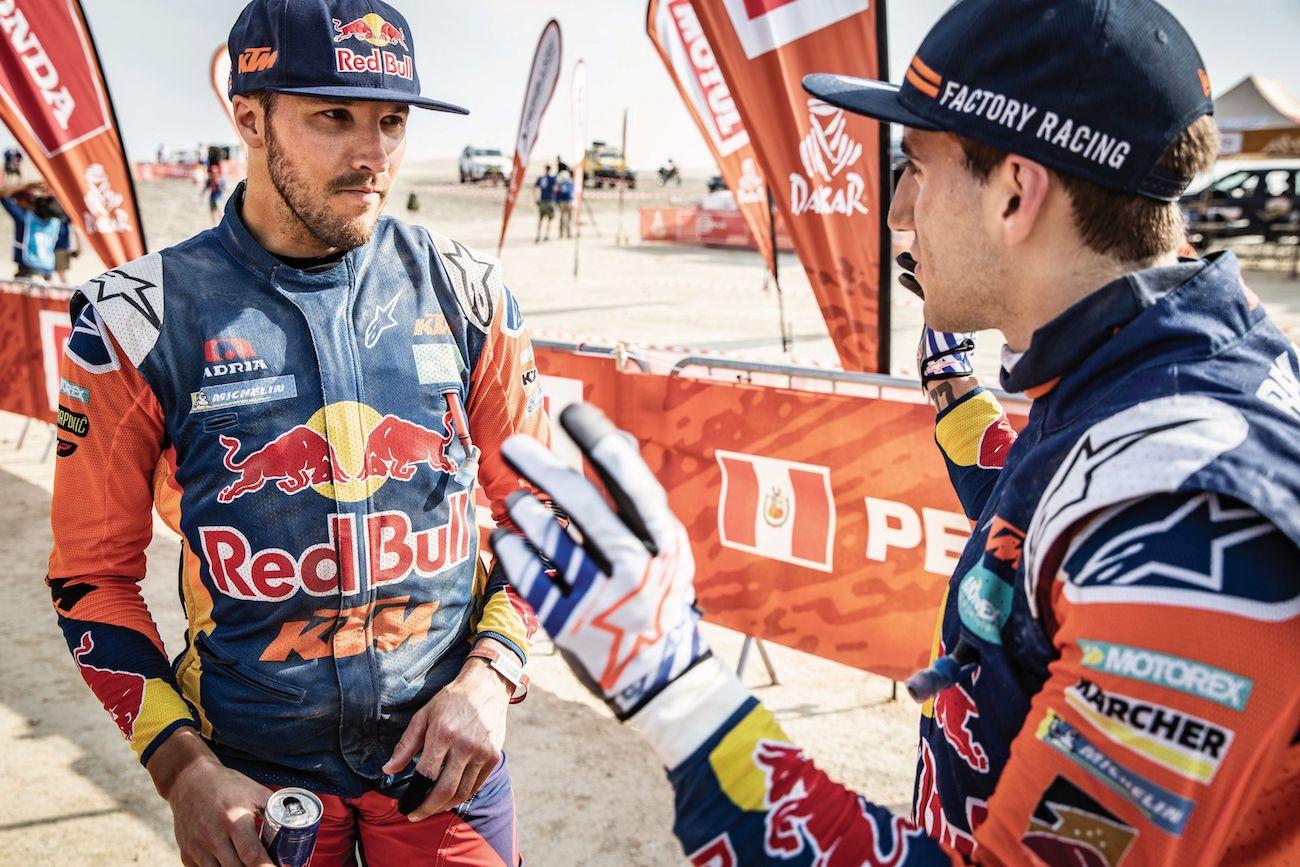 Toby Price et KTM