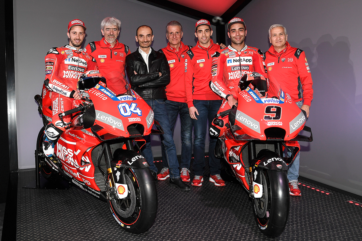 Team Ducati MotoGP 2019
