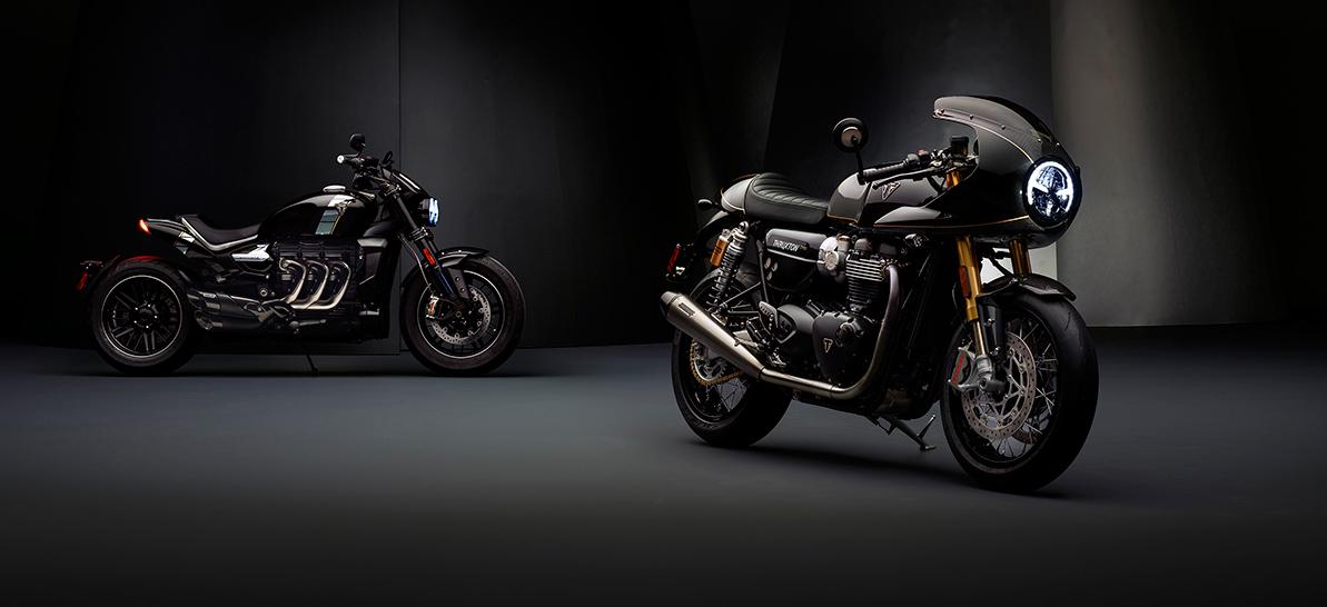 Triumph dévoile deux nouvelles motos du concept TFC