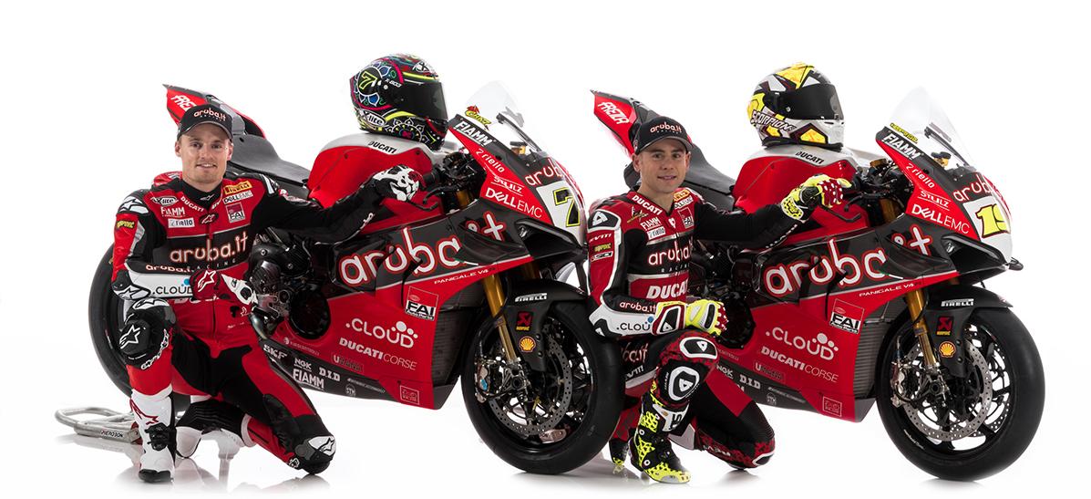 Après «Mission Winnow» MotoGP, Ducati présente ses pilotes et leurs V4 Superbike