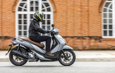 Le HD 300, un nouveau roues hautes chez Sym :: Nouveauté 2019