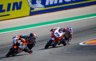 Aron Canet regagne du terrain sur Dalla Porta avec une victoire à Aragon :: Mondial Moto3