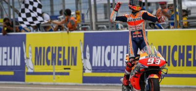 Marc Marquez se rapproche du titre en s'imposant encore une fois à Aragon :: MotoGP 2019