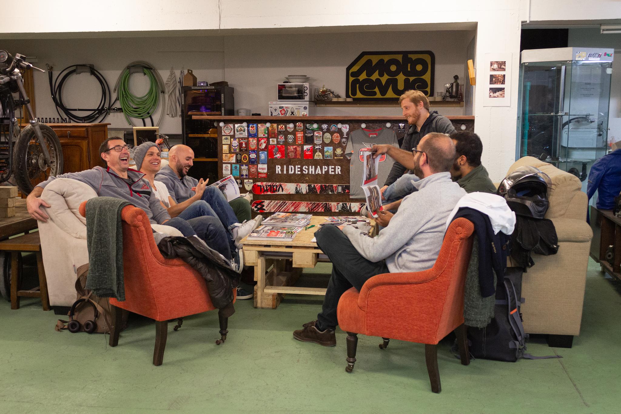 l'atelier participatif Rideshaper