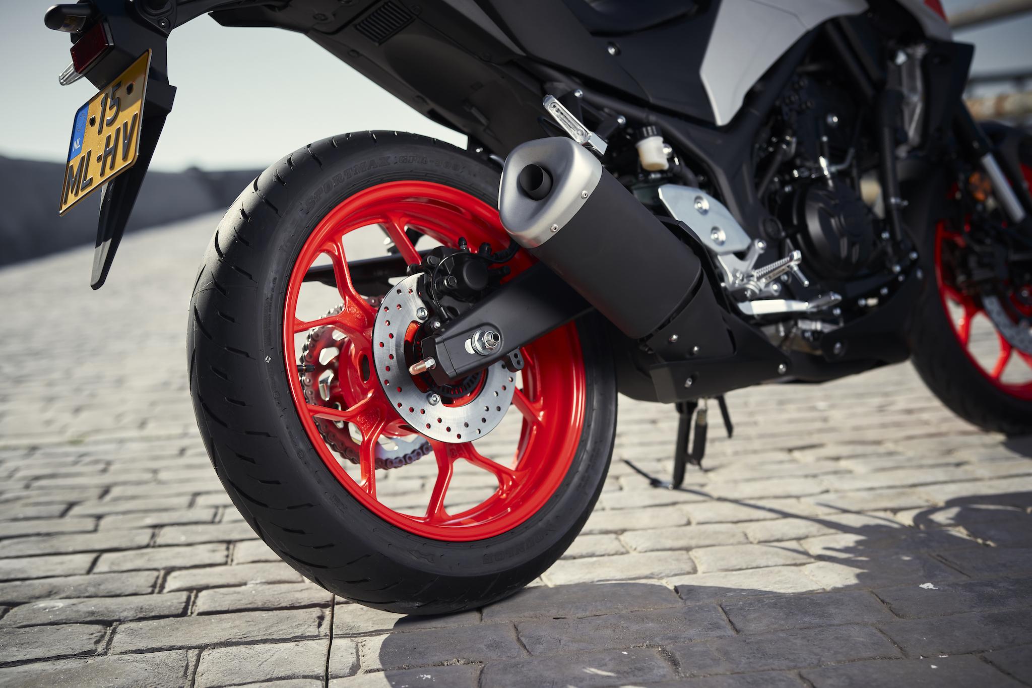 Yamaha MT roue arrière