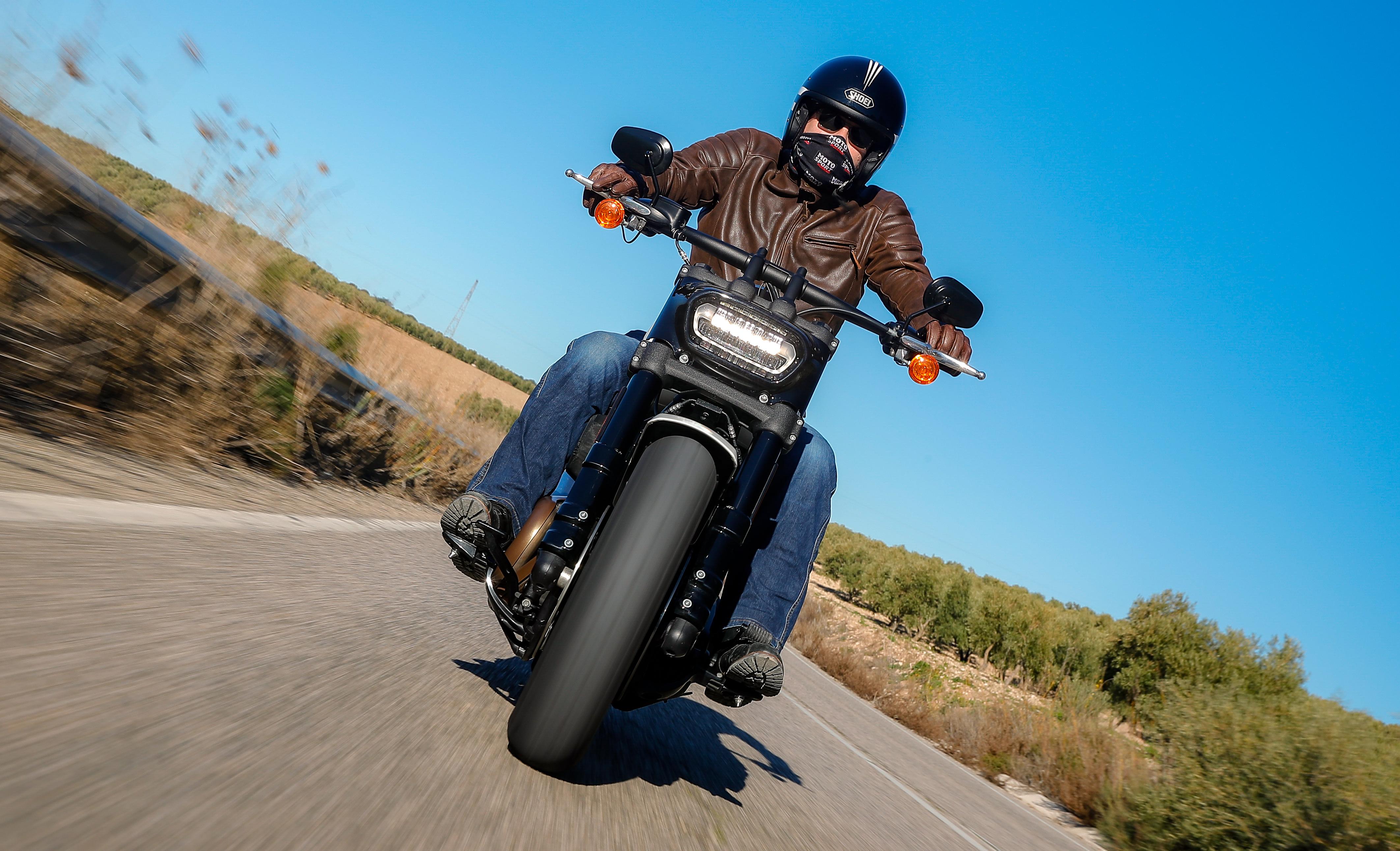 Harley Davidson Fat Bob 114 ActuMoto Mathias Deshusses