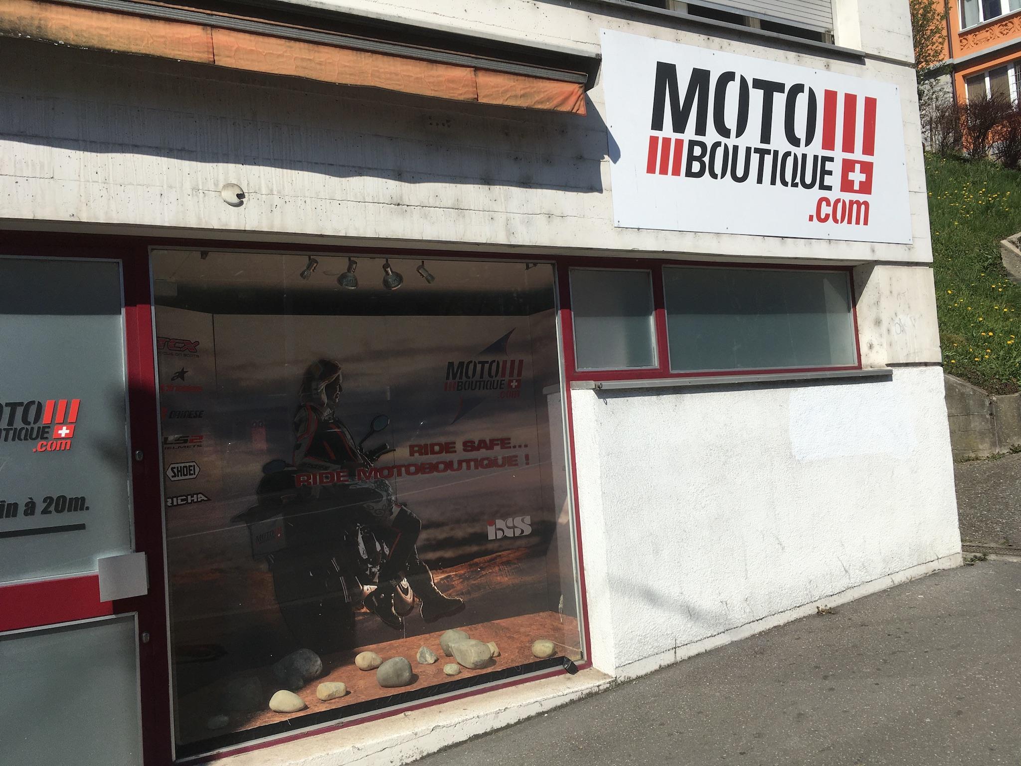 Motoboutique à Lausanne