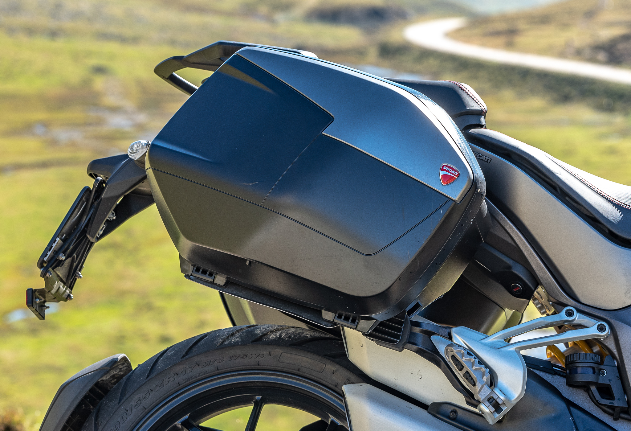 Ducati Multistrada 1260 S Grand Tour, valises