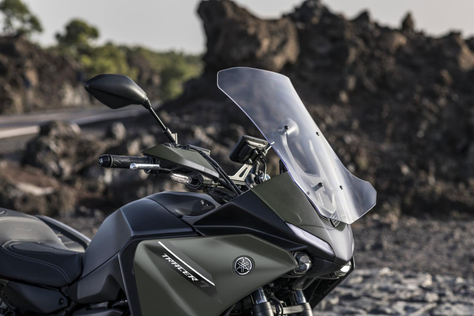 La Yamaha Tracer 7 GT