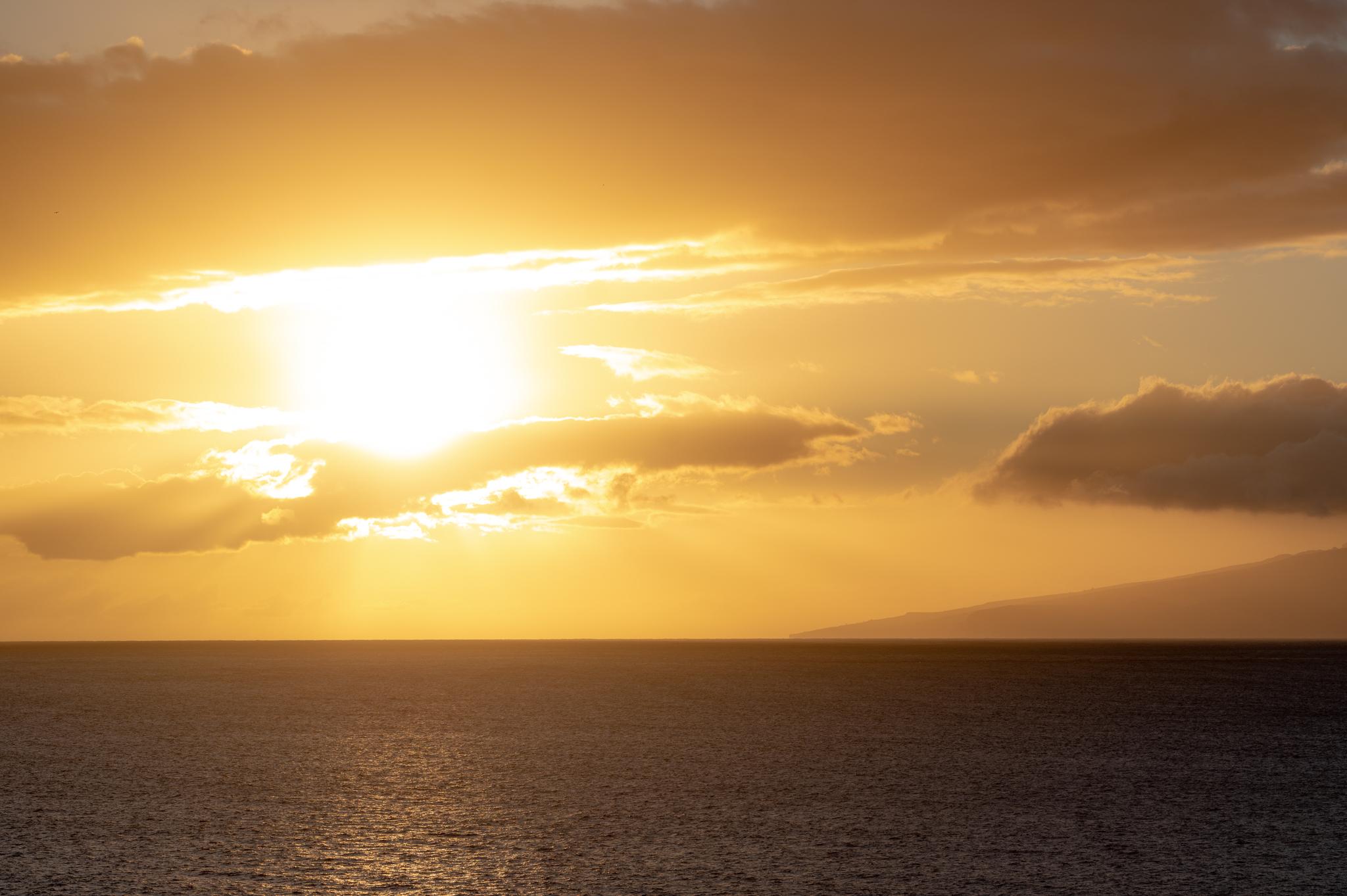 Coucher de soleil ténérife