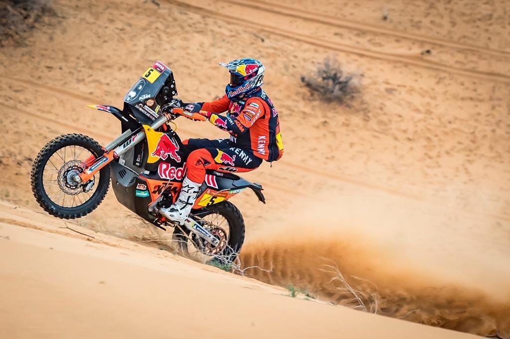 Sam Sunderland Dakar 2021 ActuMoto