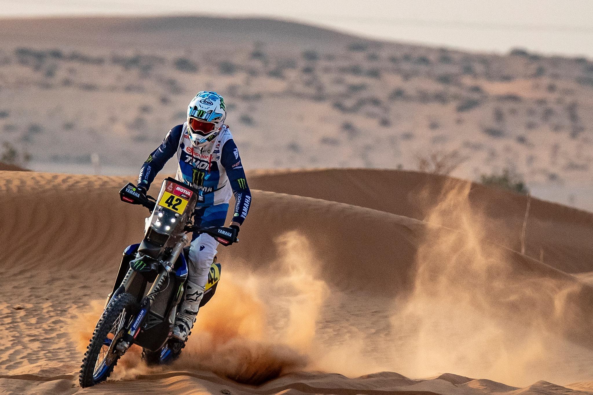 Adrien Van Beveren Dakar 2021 ActuMoto