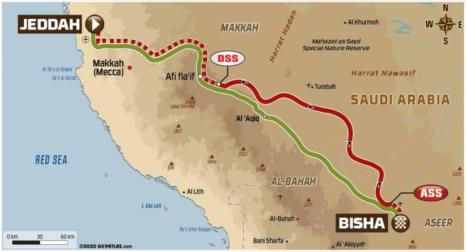 Dakar 2021 1ère étape ActuMoto