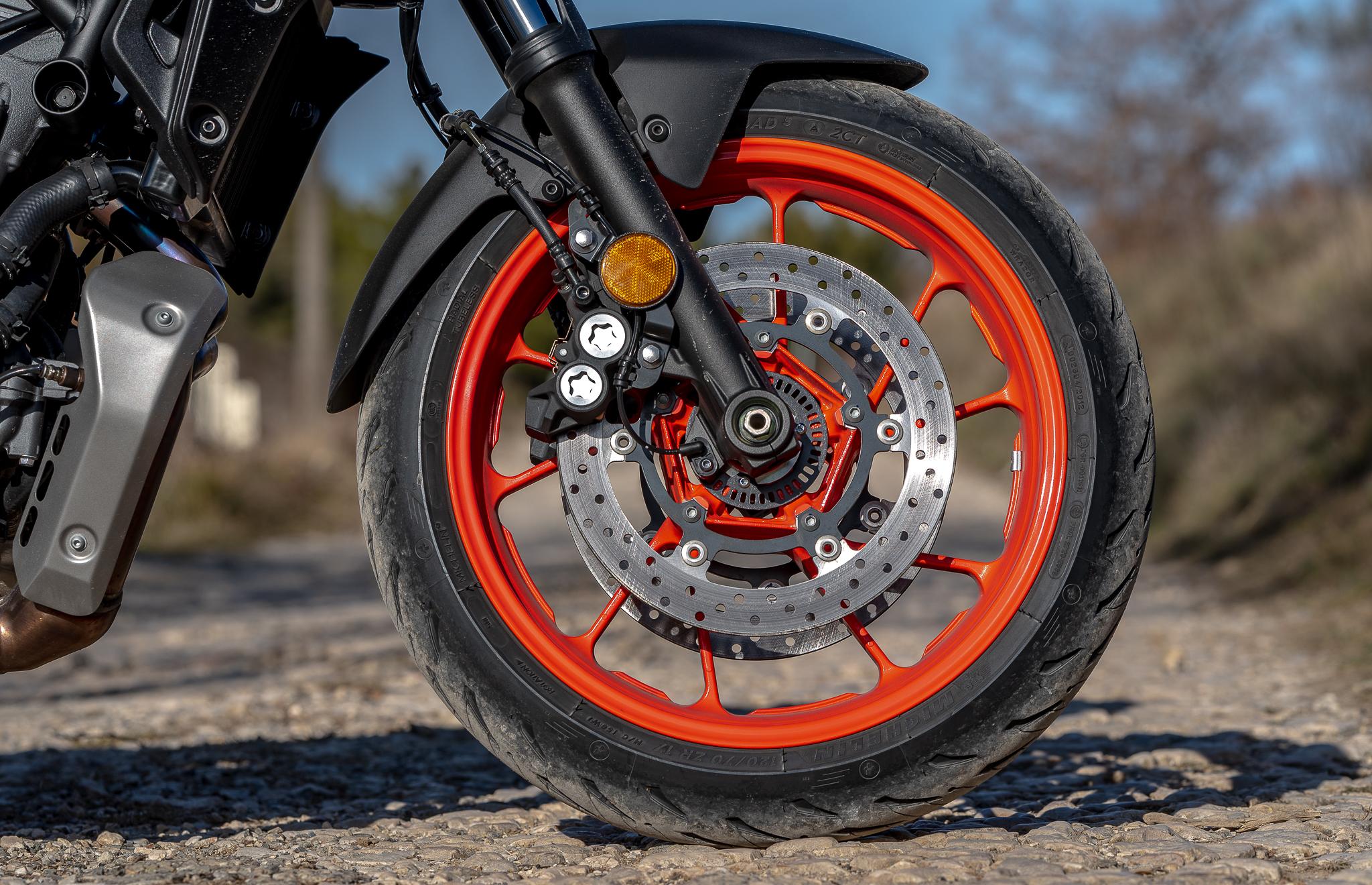 Yamaha freins