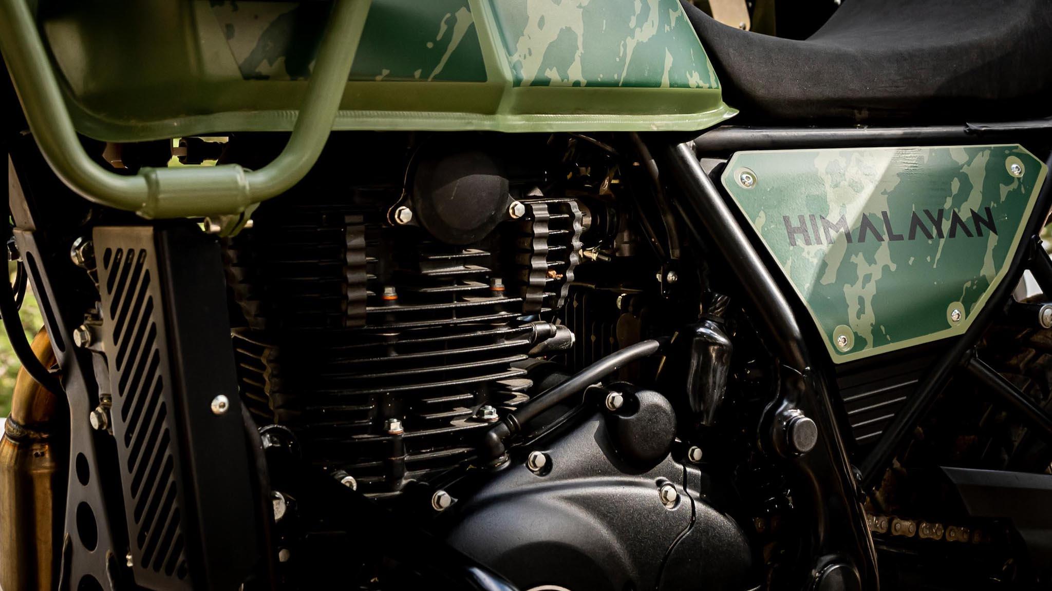 Royal Enfield moteur