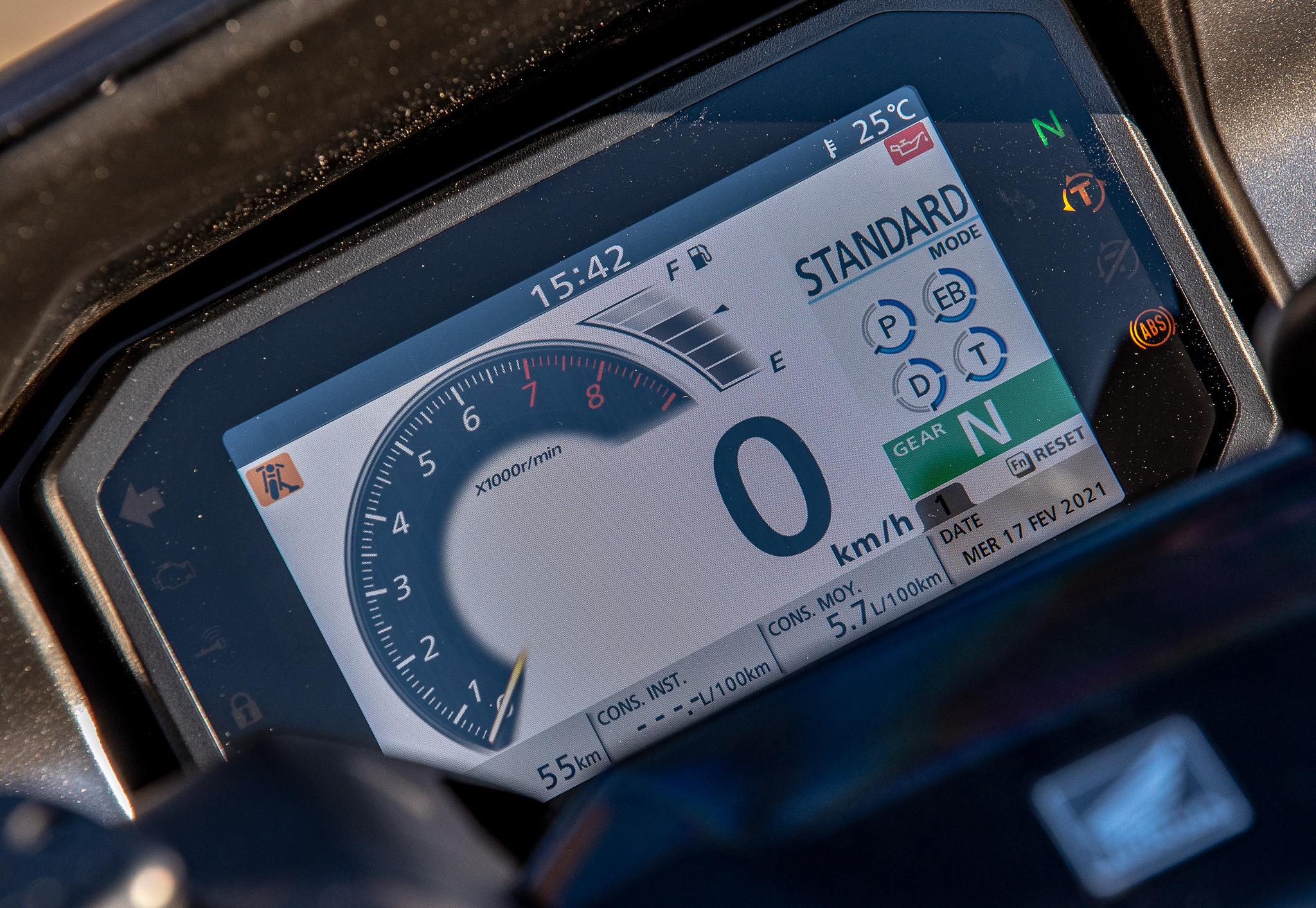 écran TFT Honda