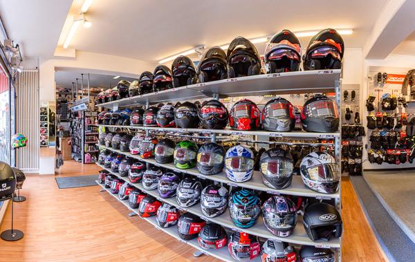 les boutiques moto
