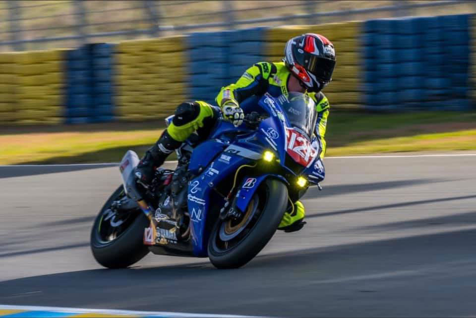 L'Yverdonnois David Chevalier sera au départ avec la Yamaha du Falcon Racing.