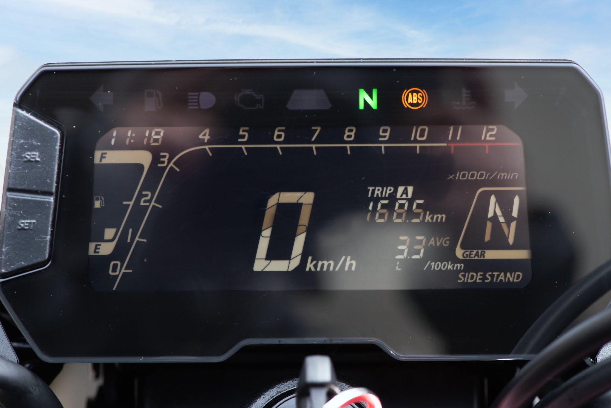 tableau de bord Honda