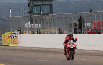 Superbike – Redding offre la coupe à Ducati dans la course numéro 2 à Aragon :: Mondial Superbike