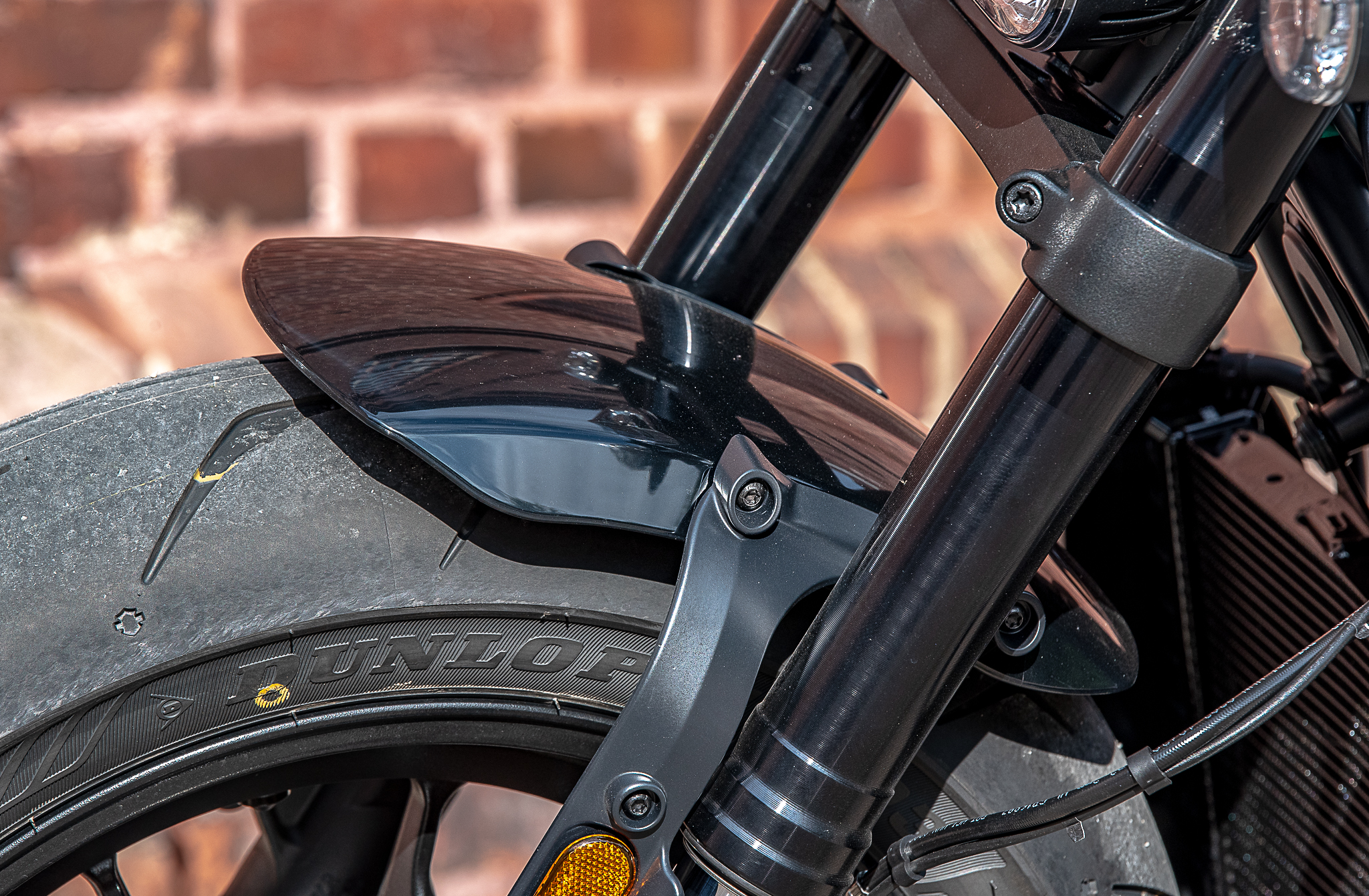 Harley-Davidson garde-boue