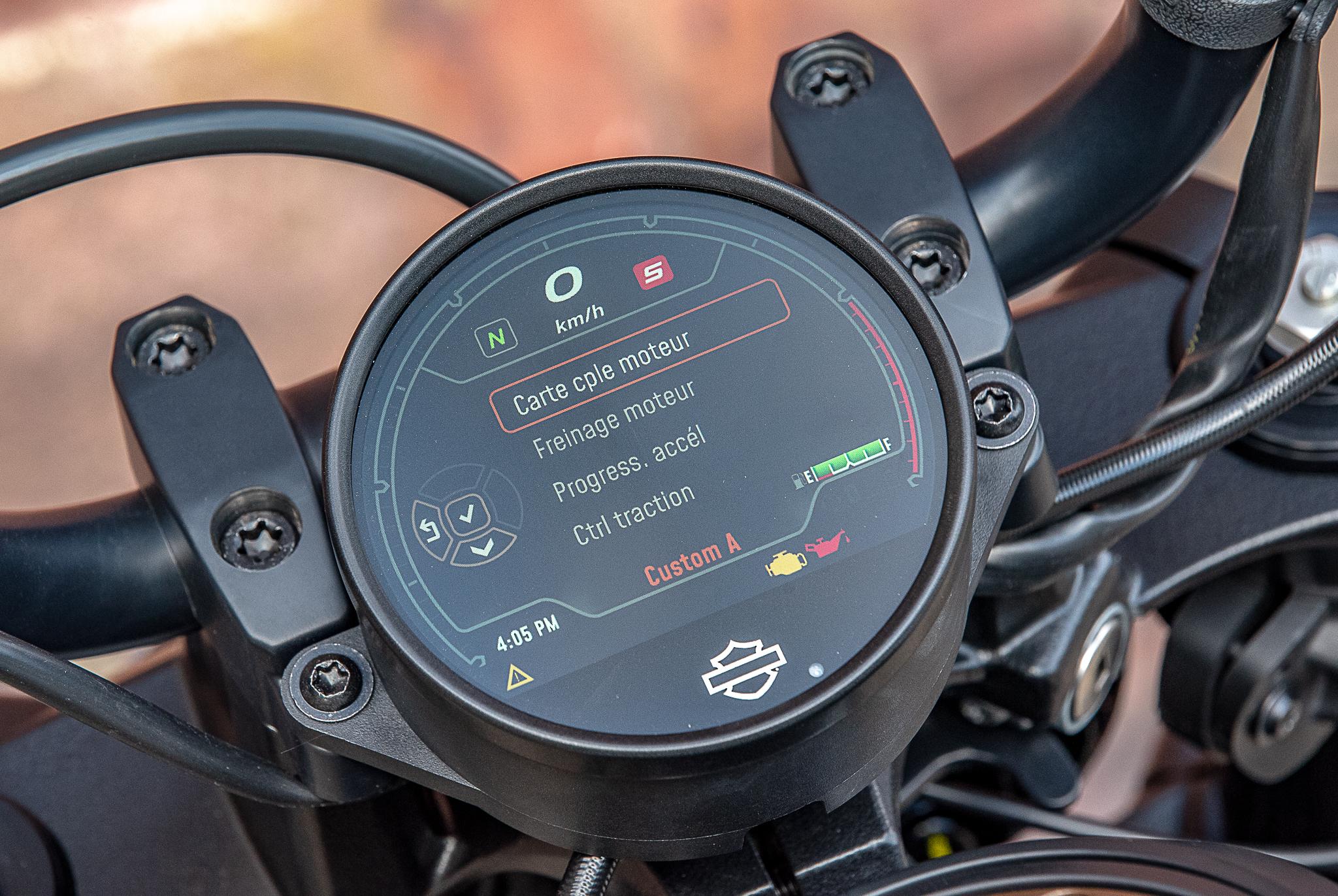 Harley-Davidson écran